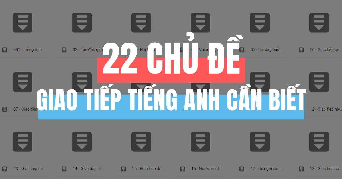 Chu De Luyen Nghe